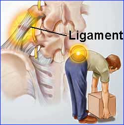 back pain, lifting heavy boxes